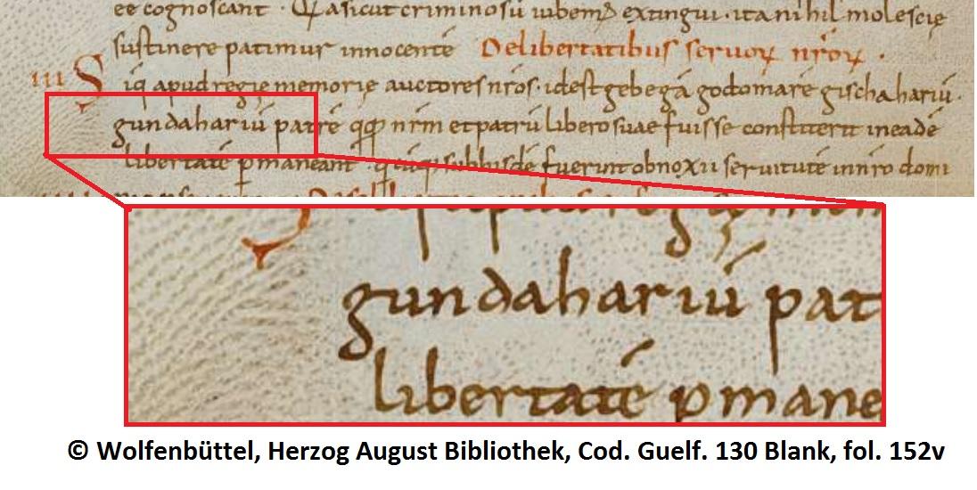 Gundaharius in Lex Burngionum