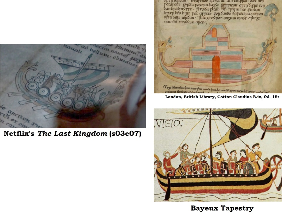 Bayeux Tapestry in The Last Kingdom
