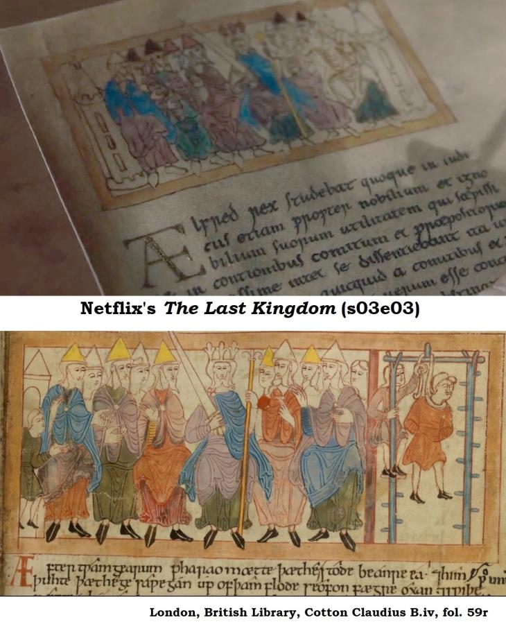Last Kingom S03E03 Source image pharaoh remastered