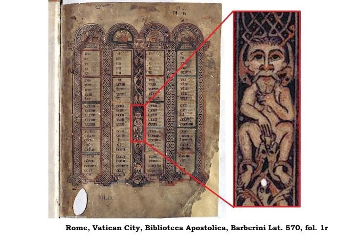 Vikings Barberini Gospels